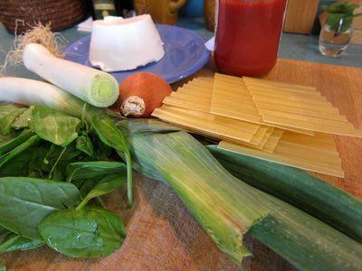 lasaña -vegeta-de-puerros-espinacas-y-ricotta-