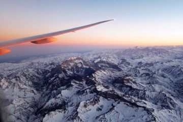 sobrevolando los Andes