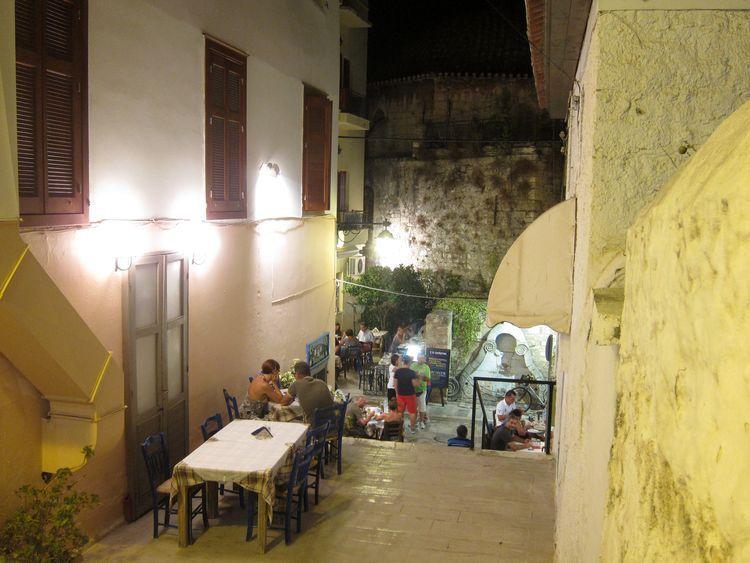 Naxos, Atenas, Náfplio