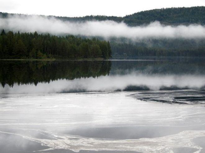 Trayecto Oslo-Bergen