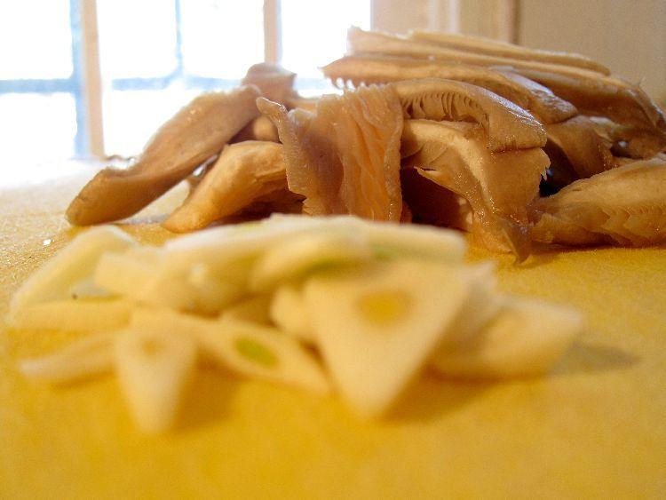 tortilla de espinacas y setas