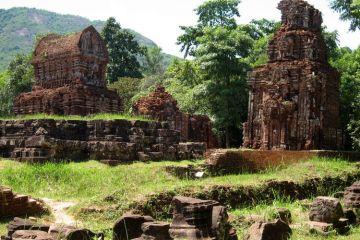 El santuario de My Son en Vietnam