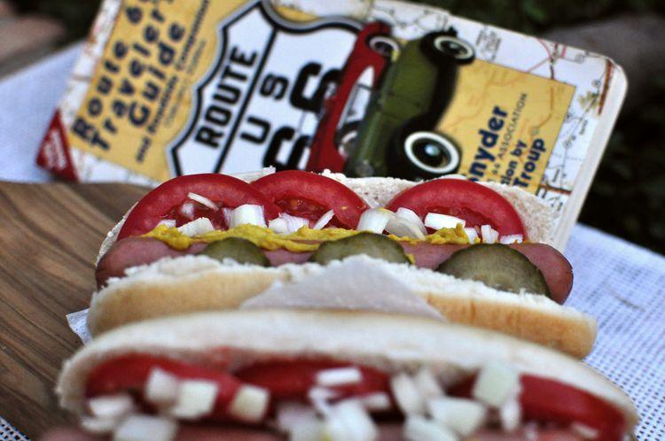 Hot dog estilo Chicago