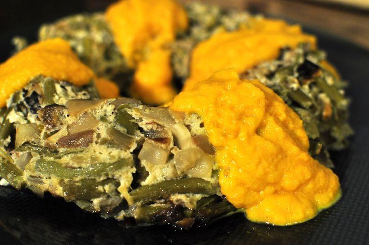 pastel-vegetal-de-ajetes-y-champiñones-13