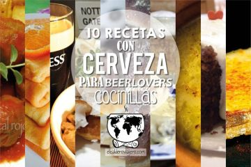 10 recetas con cerveza