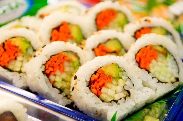 7 tipos de sushi diferentes