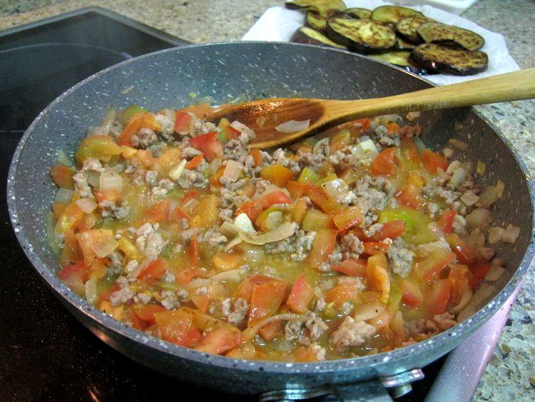 musaka de berenjena y patata