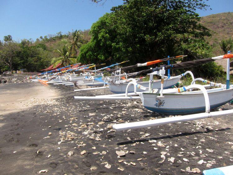 barcas pesqueras tradicionales