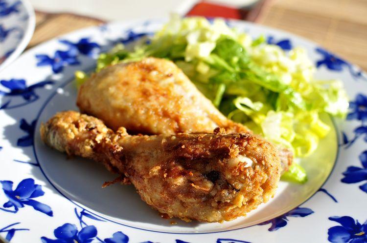pollo frito estilo sureño con buttermilk