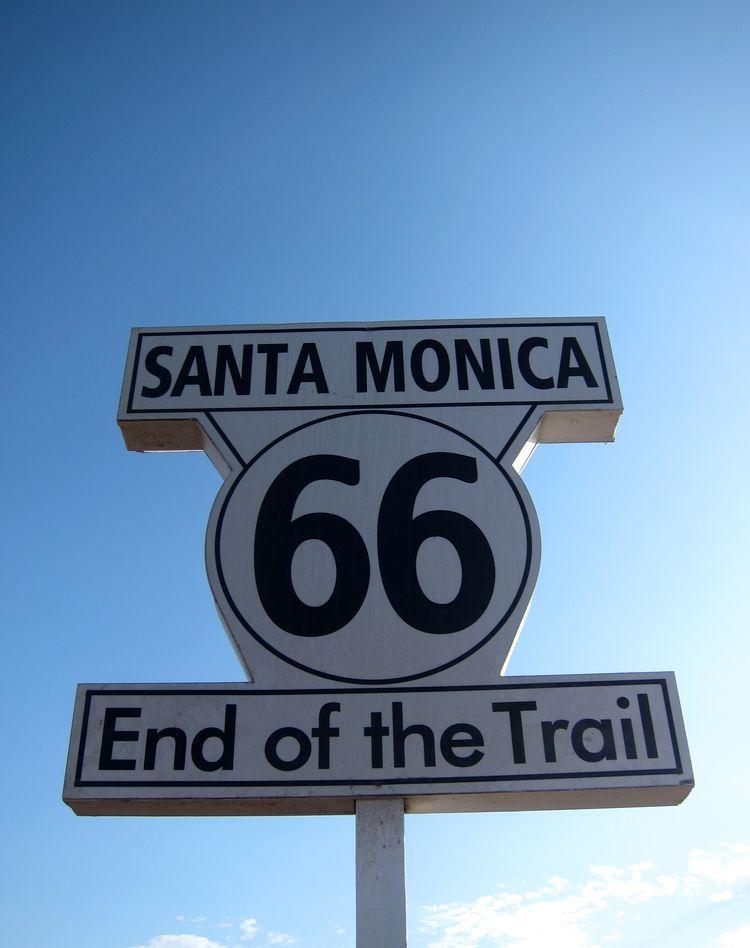 ruta 66 paradas principales