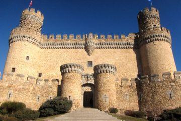 Visitar el castillo de Manzanares El Real (Madrid)