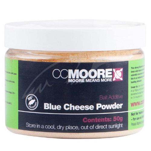 CCMOORE BAIT ADDITIVE BLUE CHEESE POWDER 50 G