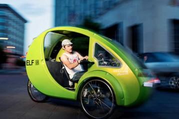 В США успешно производят транспорт будущего – электромобиль «Эльф»