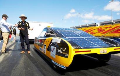 Новый рекорд скорости на электромобиле
