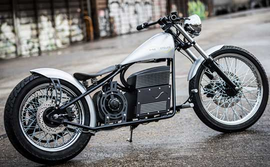 Концепт дорожнего электромотоцикла от Sine Cycles