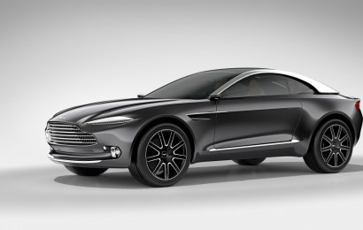 Aston Martin привез в Женеву электромобиль DBX