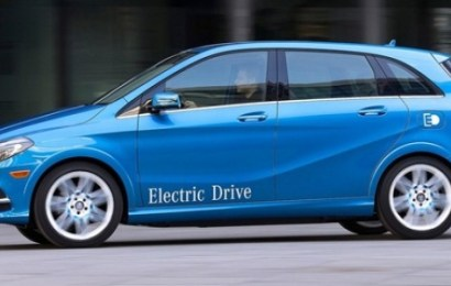 Новый электрокар Mercedes составит 500 километров