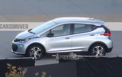 Первые фото электромобиля Chevrolet Bolt