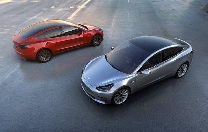 Бюджетный электромобиль Model 3 от Тесла