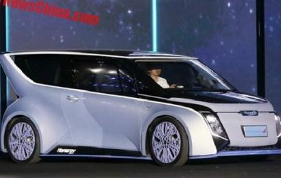 Китайцы собираются выпустить солнечный электромобиль