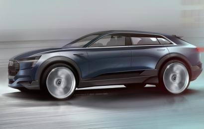 Volvo показало как будет выглядеть первый электрический кроссовер