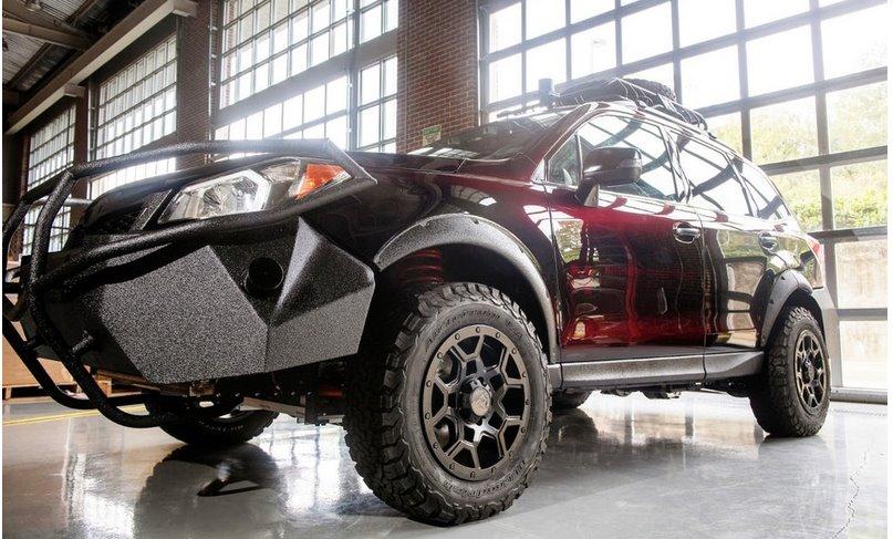 Subaru Forester теперь тоже электрический