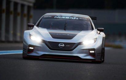 Полноприводной спорткар Nissan Leaf