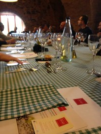 El dinar amb cooperativistes i blocaires