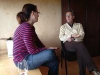 Vinologue i l'Escola Jaume Ciurana de Falset
