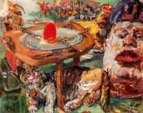 Oskar Kokoschka, The Red Egg, 1940