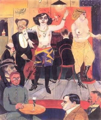 Rudolf Schlichter, Tingel-Tangel, 1919