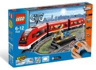 Lego tren pasajeros 7939
