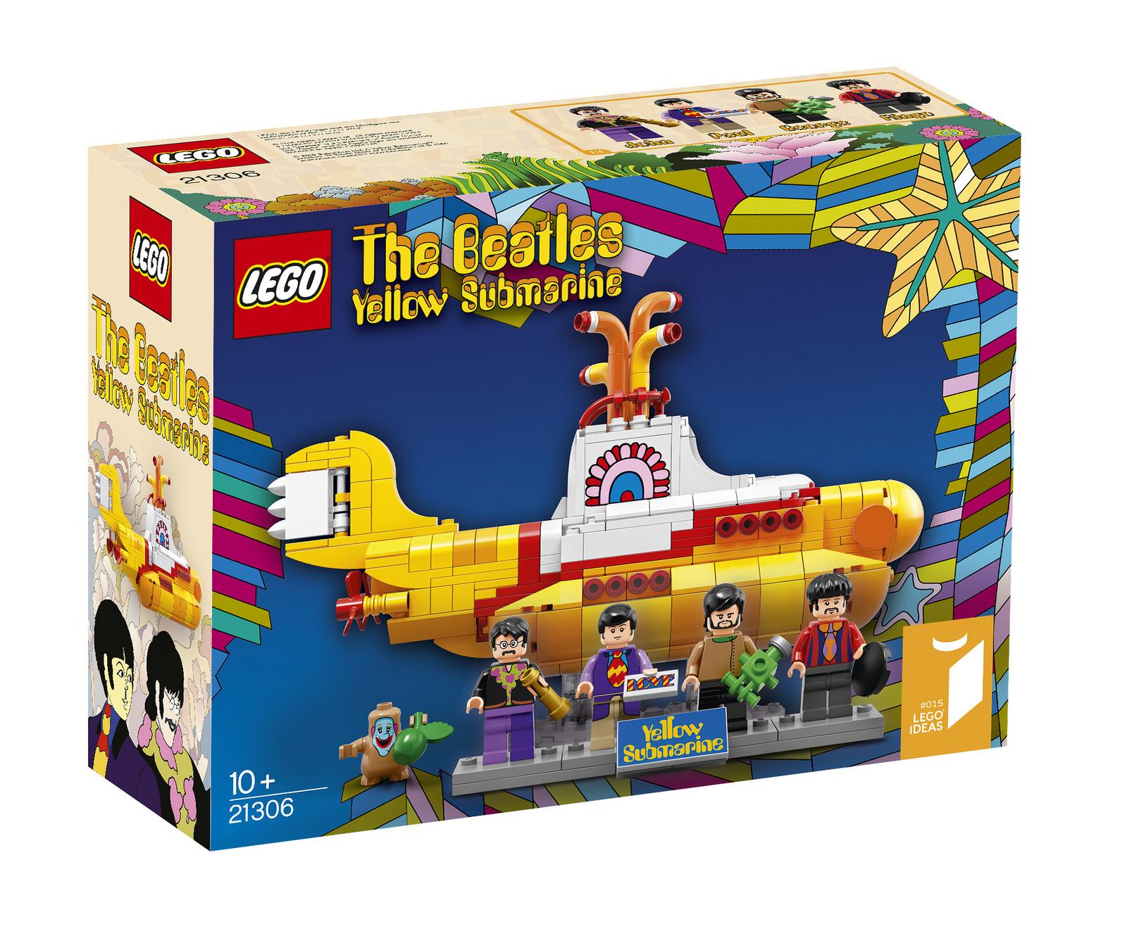 Ya se puede conseguir el nuevo Lego The Beatles Yellow ...