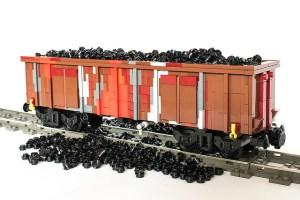 vagón carbon de lego