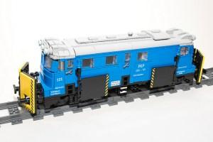 Inspiración para trenes de Lego