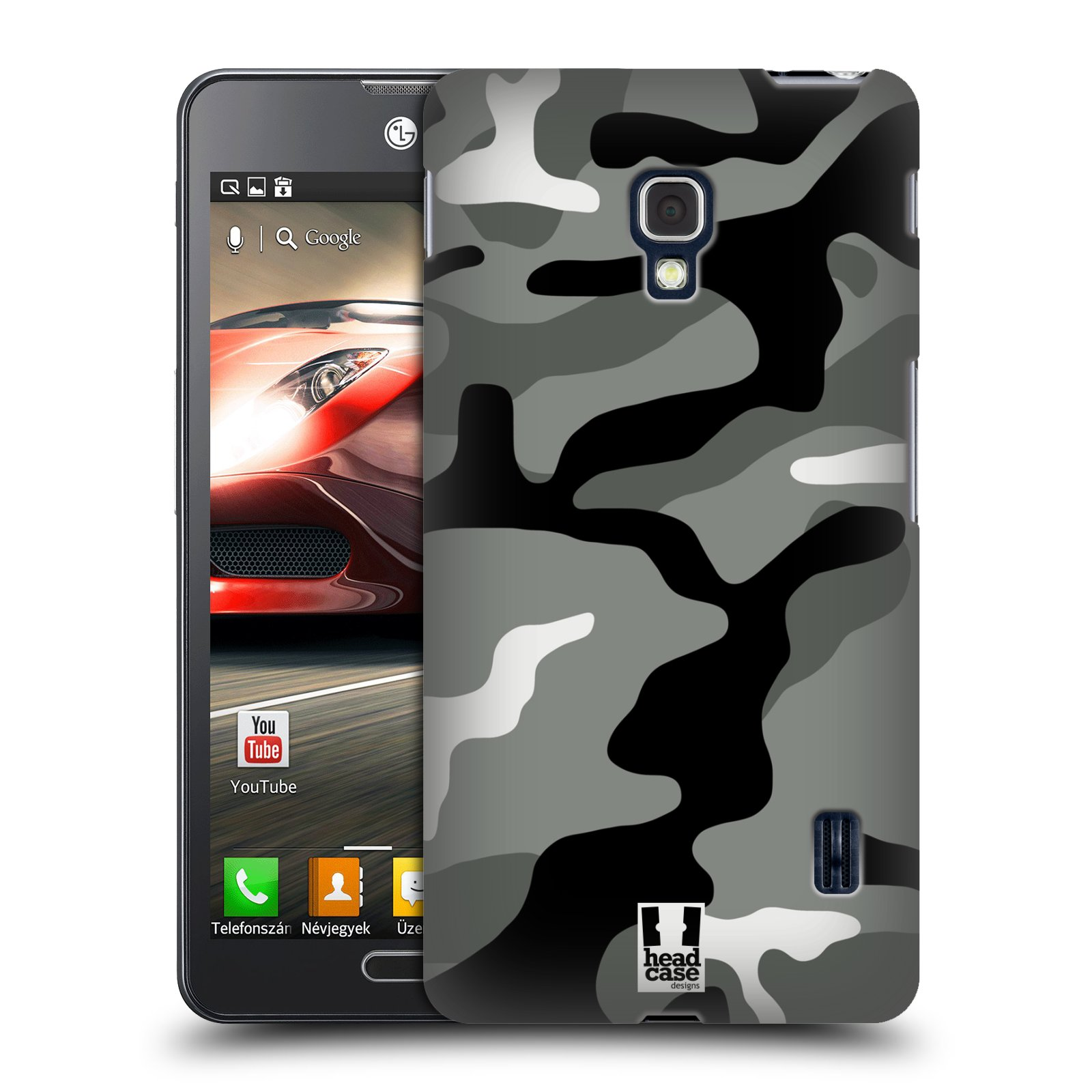 Head Case Design Military Camo Hard Lg Phones 3