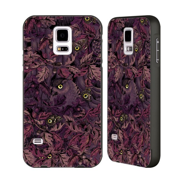 Official Celandine Camouflage Black Bumper Slider Case