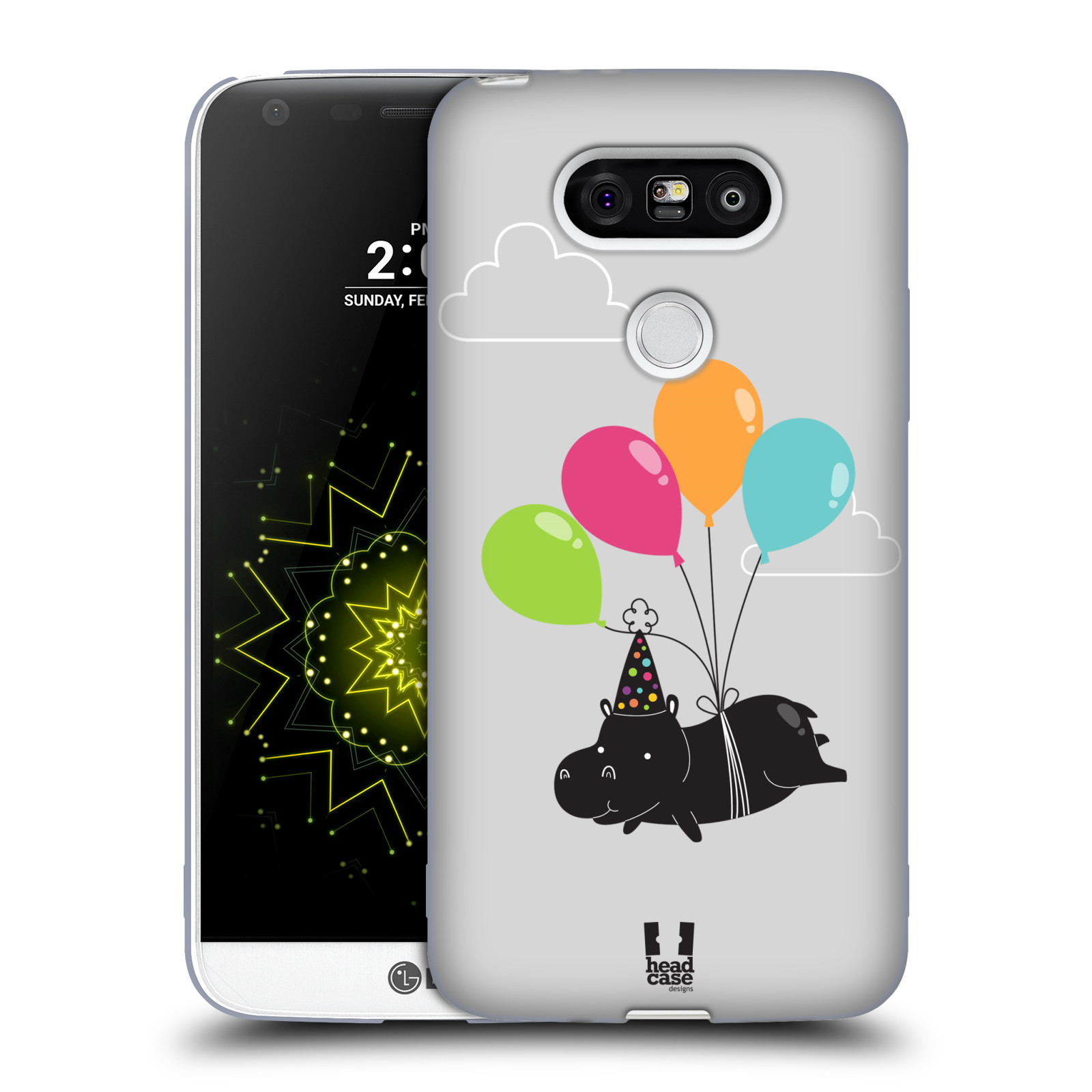 HEAD-CASE-DESIGNS-PARTY-ANIMALS-SOFT-GEL-CASE-FOR-LG-G5-H850-H840