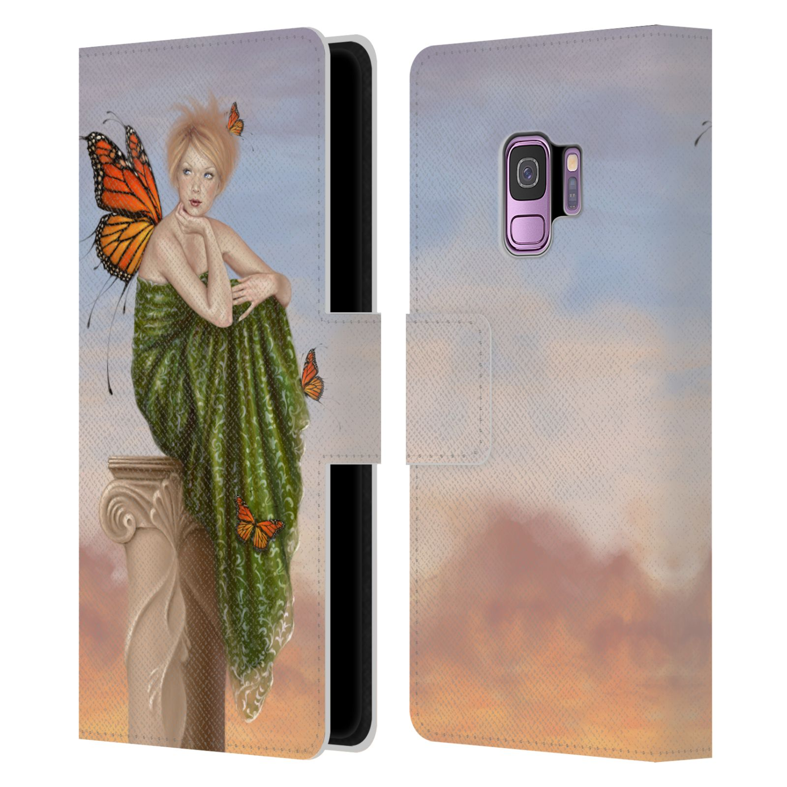 Official Rachel Anderson Fairies Leather Book Wallet Case Samsung Phones 1