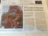 April 19, 2013 Daily Trojan - El Centro Chicano protest continues pg 1