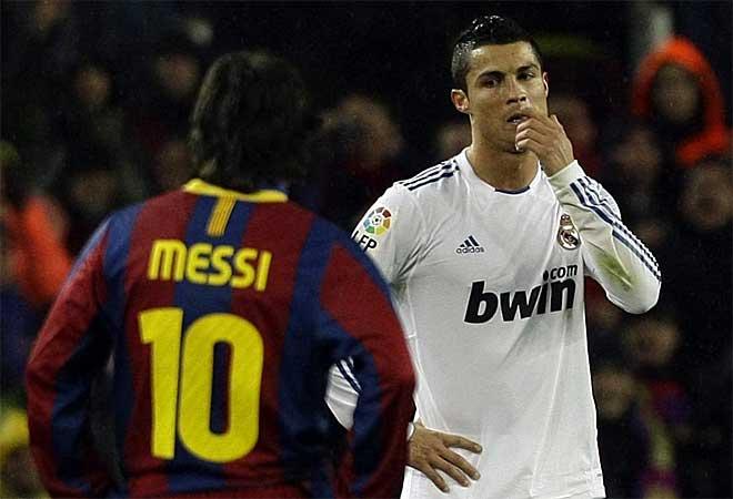 Lionel Messi e Cristiano Ronaldo ccf537021a21
