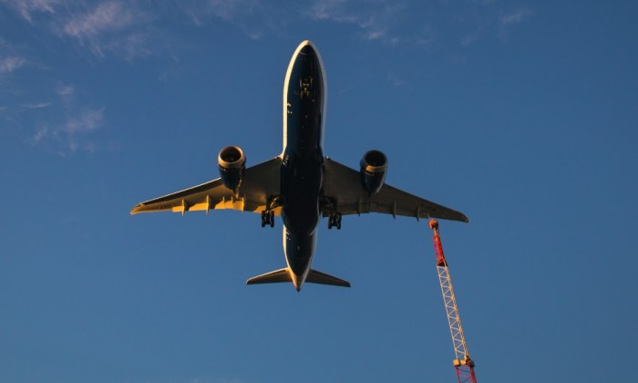aeronave, boeing, avion