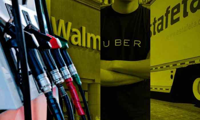 Walmart, La Comer, Soriana hablan de cómo les va con el desabasto de gasolina.