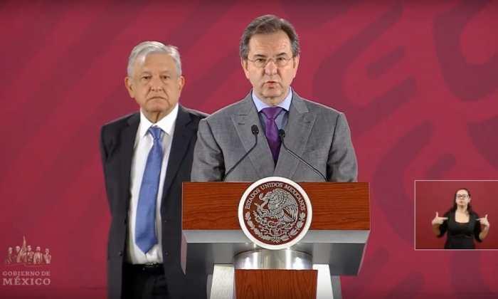 Andrés Manuel López Obrador y Esteban Moctezuma