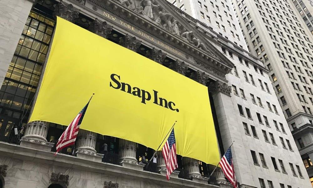 Snapchat no promoverá la cuenta de Trump