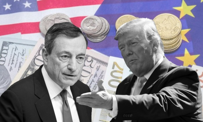 Mario Draghi, Donald Trump