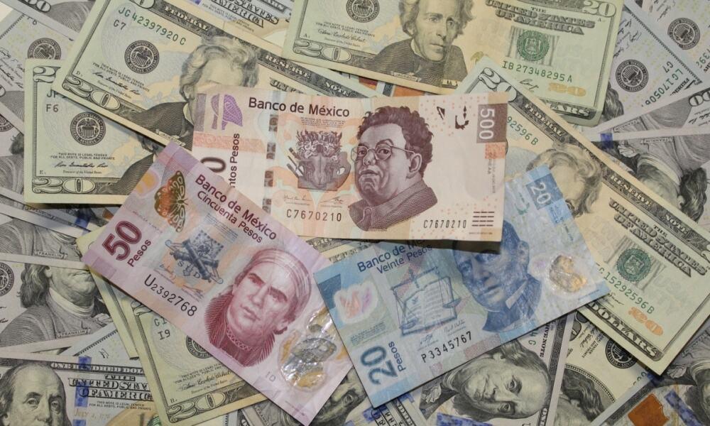 pesos dólar