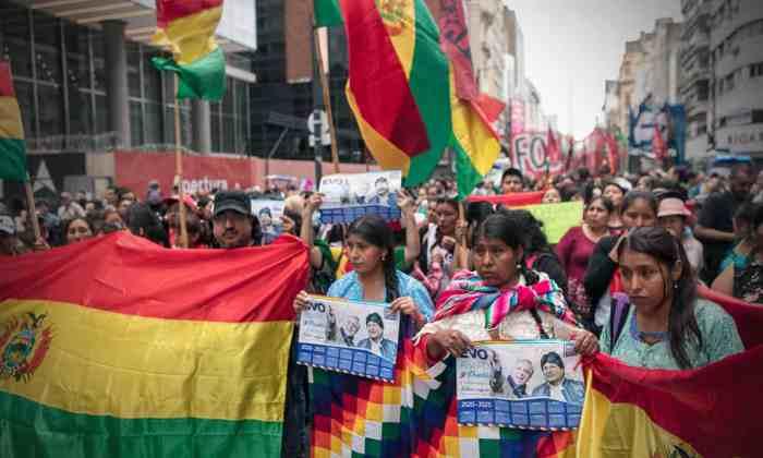 Crisis en Bolivia (Getty Images)