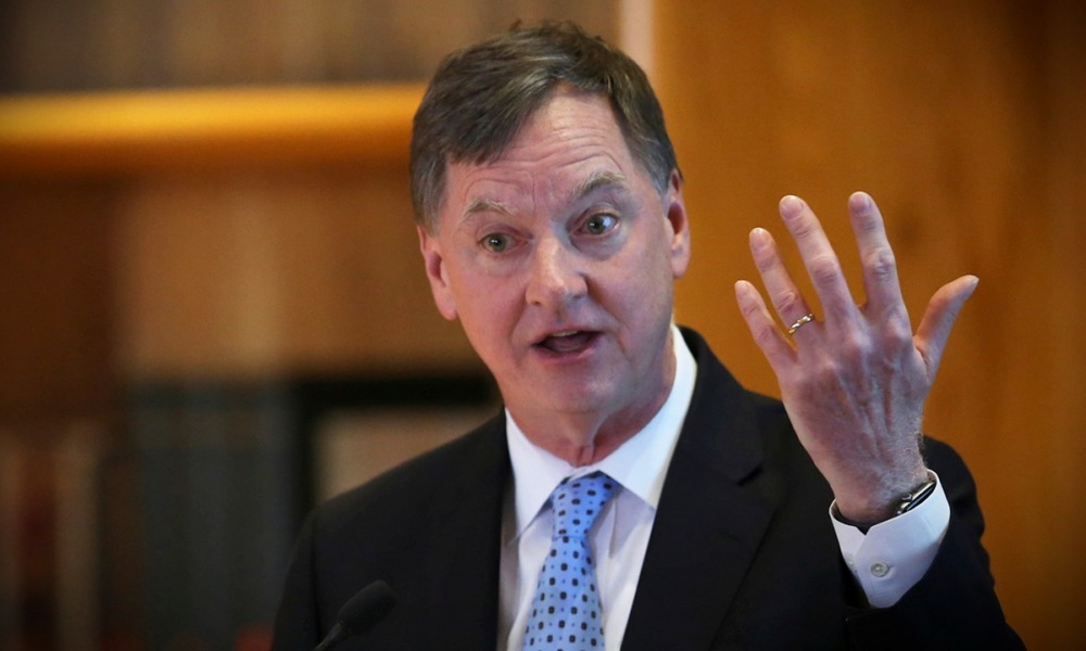 Charles Evans, presidente de la Fed de Chicago (Reuters)