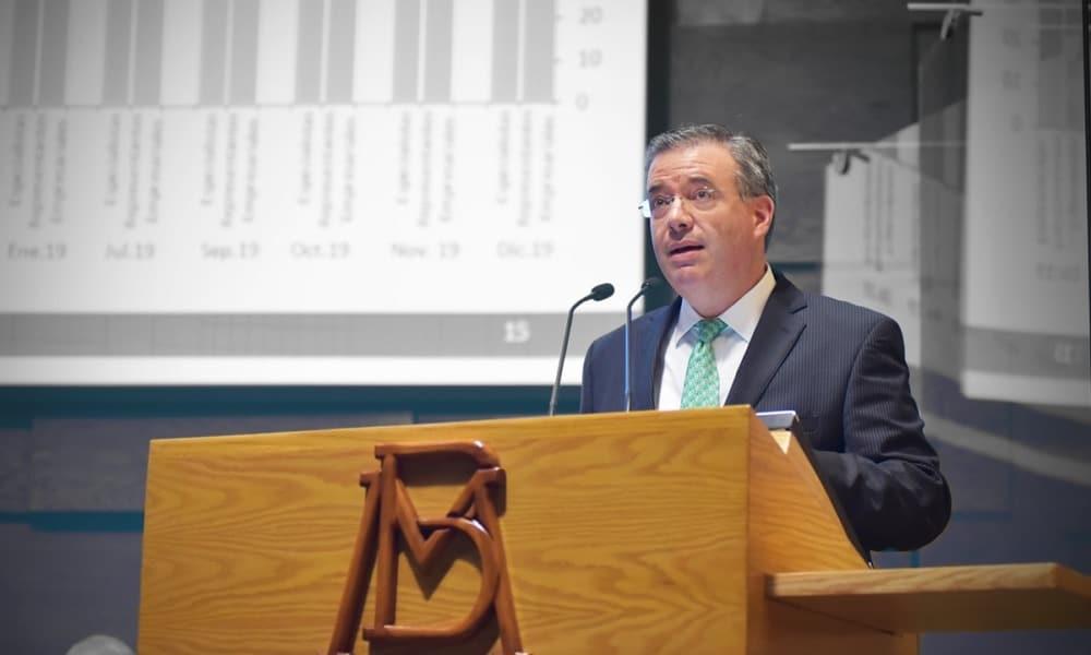 Alejandro Díaz de León, gobernador de Banxico. (Foto: Flickr Banxico)
